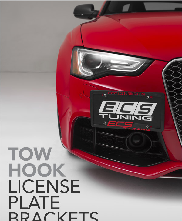 :: ECS Tuning :: NEW!! Tow Hook License Plate Bracket Kits